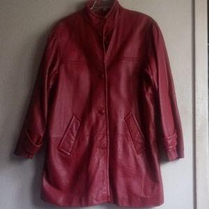 Roman Vintage Leather Jacket